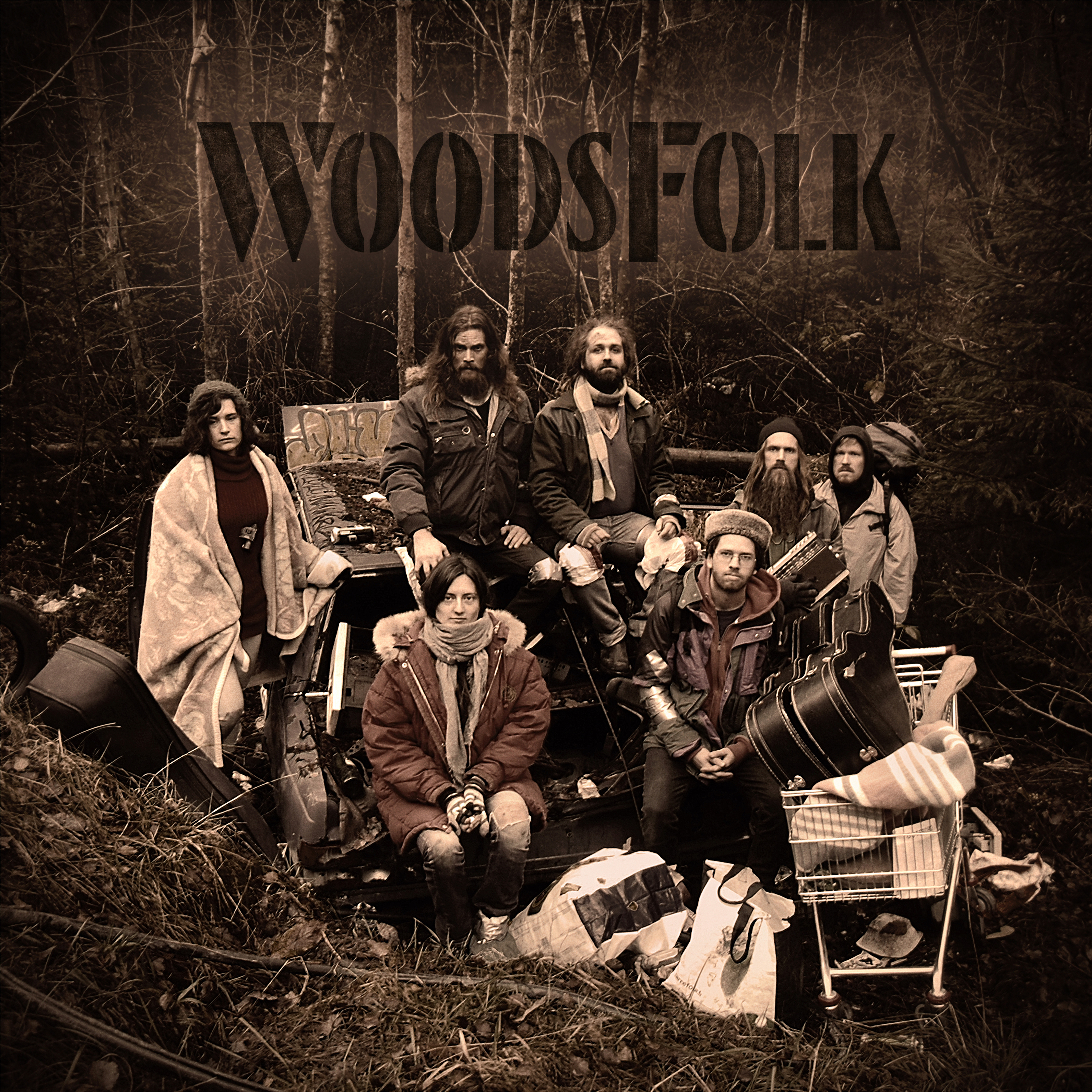 WoodsFolk their Debut Album is available on CDon.com